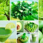 Противораковые зелёные продукты