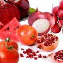 Противораковые красные продукты
