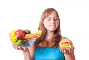 Профилактика ожирения - здоровое питание